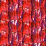 Art Red, violette de verfvlek van de waterverfinkt Stock Afbeeldingen