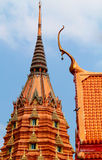 Art and religion. OF Thai temple royalty free stock image