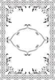 Art renaissance frame. Is on white Stock Photos
