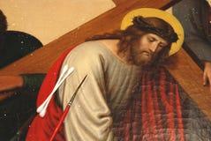 Art restoration stock image