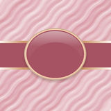 Art retro pink wave cover Stock Photo