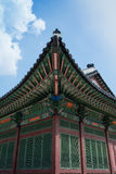 Art of Roof, Duk Soo Palace Stock Photo