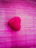 Art rose de concept de construction de symbole de célébration de romanse de valentines d'amour de coeur Photos stock