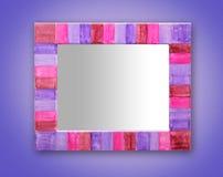 Art rustique de miroir Photographie stock libre de droits