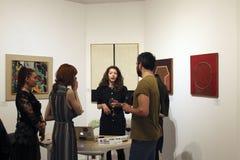 Art Safari - Bucarest Art Fair fotos de archivo libres de regalías