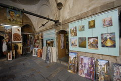 Art for sale in Damascus Royalty Free Stock Photos
