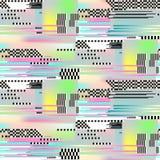 Art sans couture de modèle de problème Effet abstrait de bruit de pixel de Digital illustration de vecteur