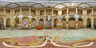 Art School-binnenland, Sibiu, Roemenië Stock Afbeeldingen