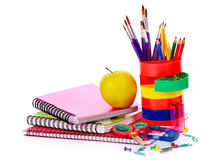 Art school  supplies. Stock Images