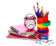Art school  supplies. Royalty Free Stock Photo