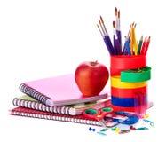 Art school  supplies. Stock Image