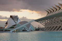 Art and Science Center Valencia Spain Royalty Free Stock Photos