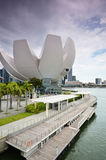 Art Science Museum as seen on in Singapore Stock Images