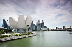 Art Science Museum as seen on in Singapore Royalty Free Stock Images