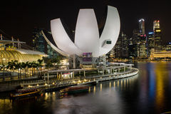 Art Science Museum Singapore Royalty Free Stock Photo