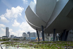 Art & Science Museum ,SINGAPORE. Stock Images