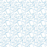 Art seamless pattern Stock Image