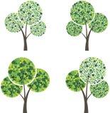 Art season trees Royalty Free Stock Photography