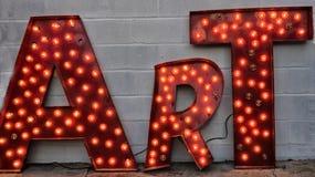 art sign stock photo image of industrial orange lamps 37454122