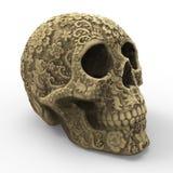 Art Skull Stock Foto's