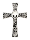Art skull cross tattoo. Royalty Free Stock Photography