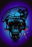 Art skull pattern tattoo Stock Photography