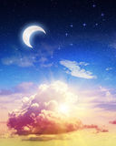 Art sky night Royalty Free Stock Photography