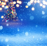 Art snow christmas background Royalty Free Stock Photography