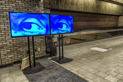 The Eye. Art Souterrain aims at making the latest art accessible to a large public, by bringing the artworks out of the traditional exhibition venues. Our Royalty Free Stock Photo