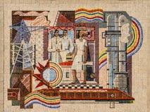 Art soviétique Images stock