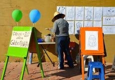 Art Space dei bambini Immagine Stock