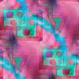 Art splash background pink, blue texture abstract Royalty Free Stock Image
