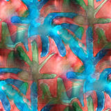 Art splash background texture red, blue, green Stock Images