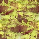 Art splash brown, yellow background brown texture Stock Image