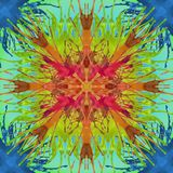 Art Splatter Design multicolore Images libres de droits