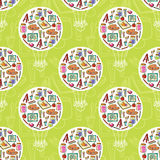 Art stationary pattern Royalty Free Stock Photos
