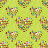 Art stationary pattern Royalty Free Stock Images