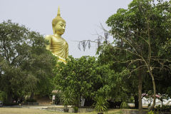 Art and statues of Buddha in Buddhism Stock Image