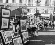 Art Street Stock Foto's