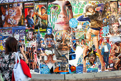 Art in Street - Paris Stock Photography