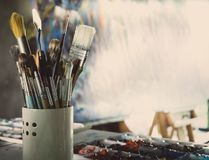 Art Studio stockbild