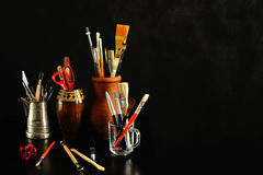 Art studio Royalty Free Stock Images