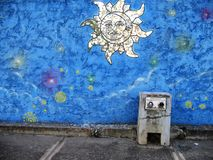 Art sud-américain de rue, ville de Guayana, Venezuela image stock