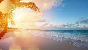 Art Summer vacation ocean beach Stock Photo