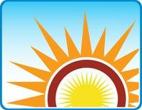 Art sun Royalty Free Stock Image