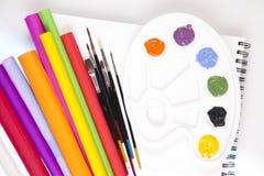 Art supplies Stock Photos