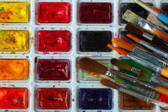 Art supplies Royalty Free Stock Photography