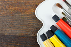 Art supplies Royalty Free Stock Photos