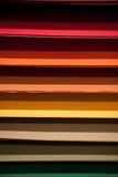 Art Supply Store Paper Display Royalty Free Stock Photos