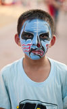 Art sur le visage ou l'Angkor Photographie stock
